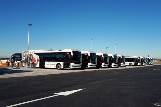 Elektrische Bussen ©Brussels Airport Company